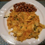 Enchilads with Beans