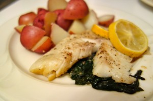 tilapia_spinich_lemon_plate