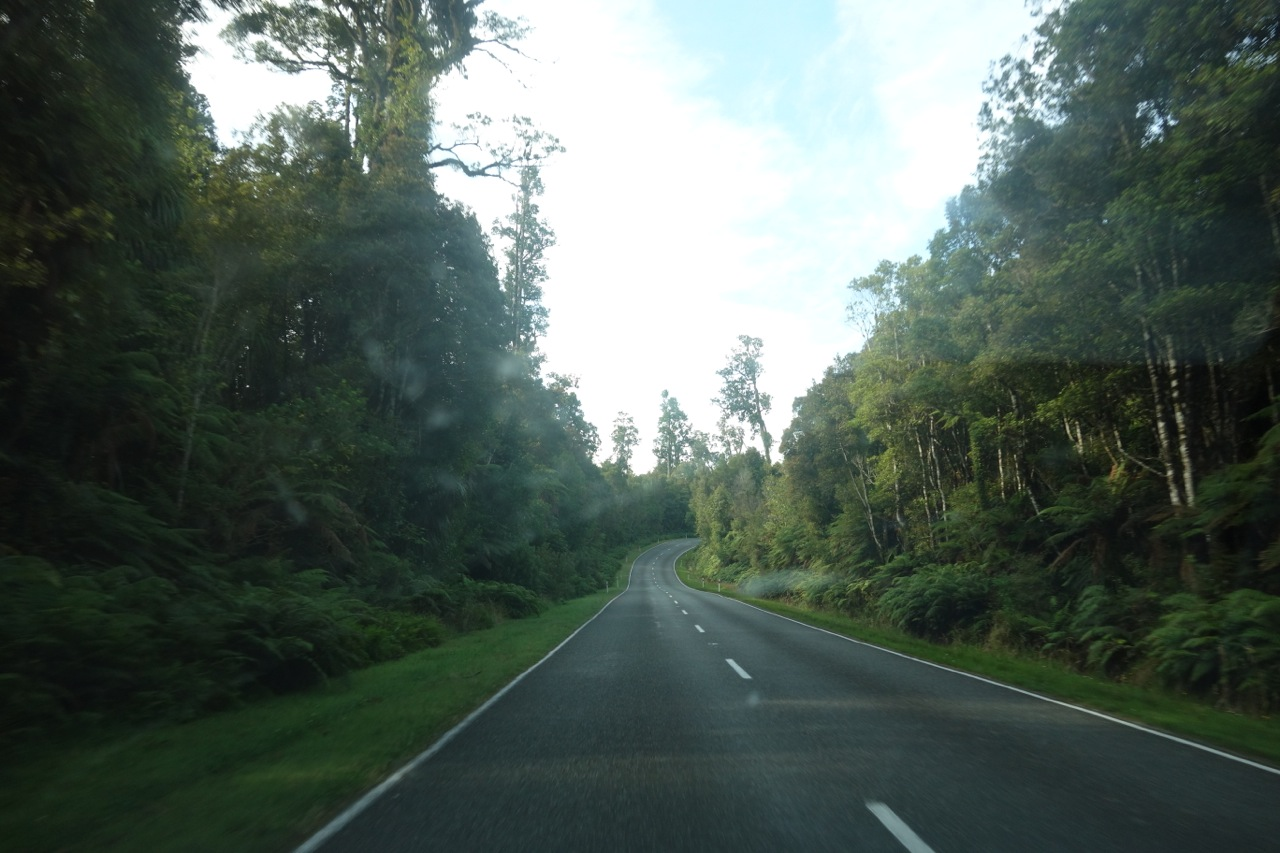 On the road to Fiji