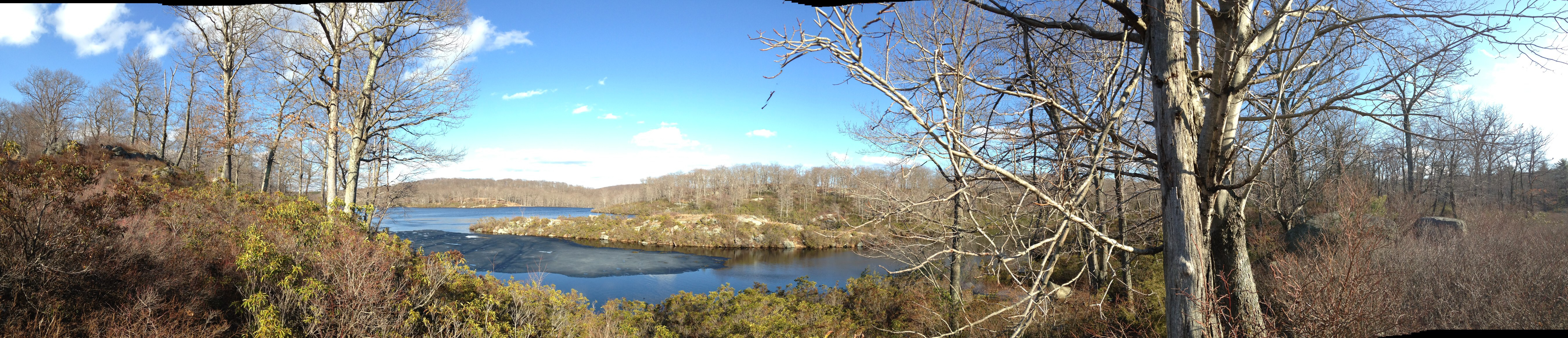 Lake Skenonto panorama