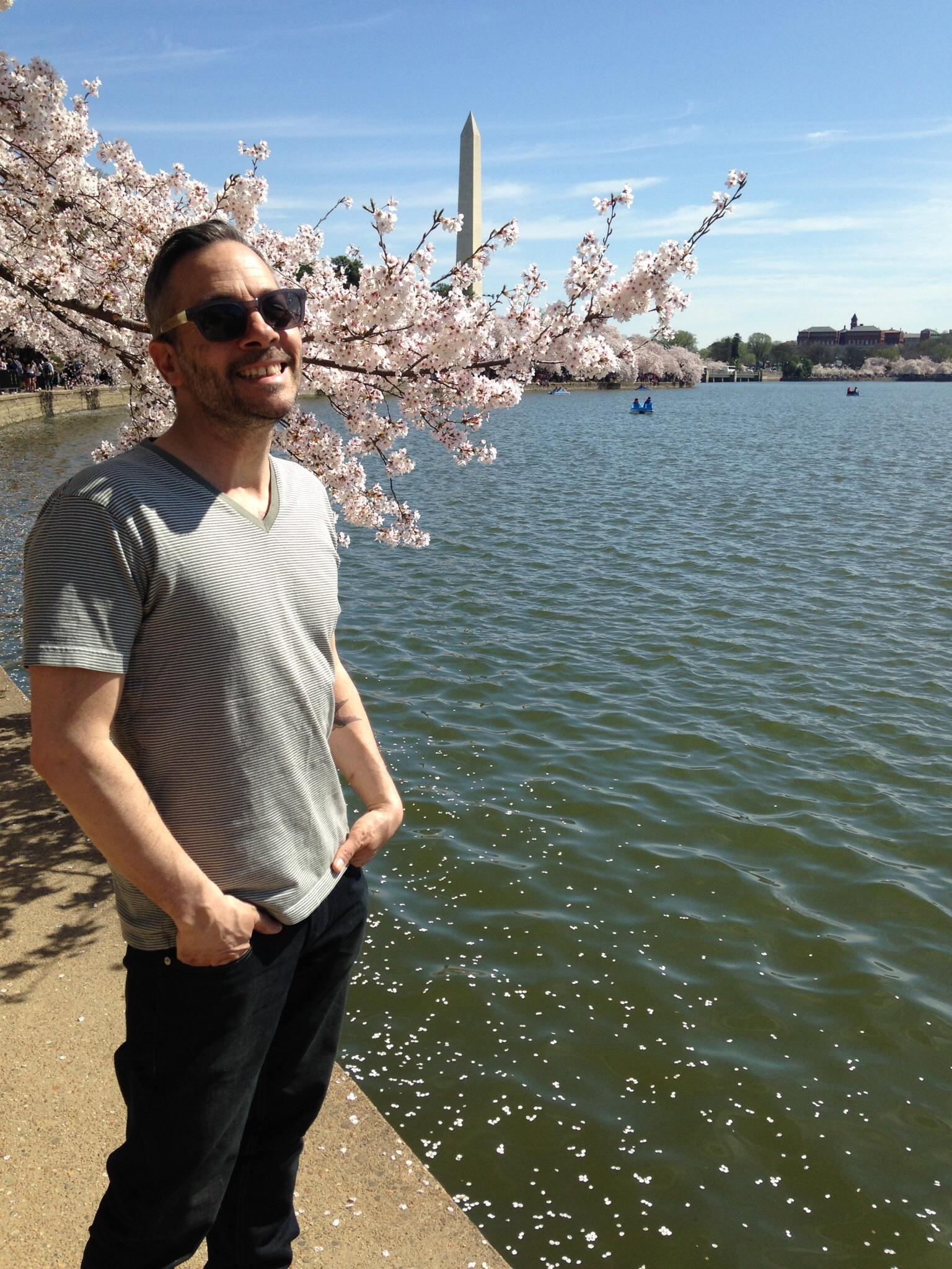 Blossoms at the tidal basin