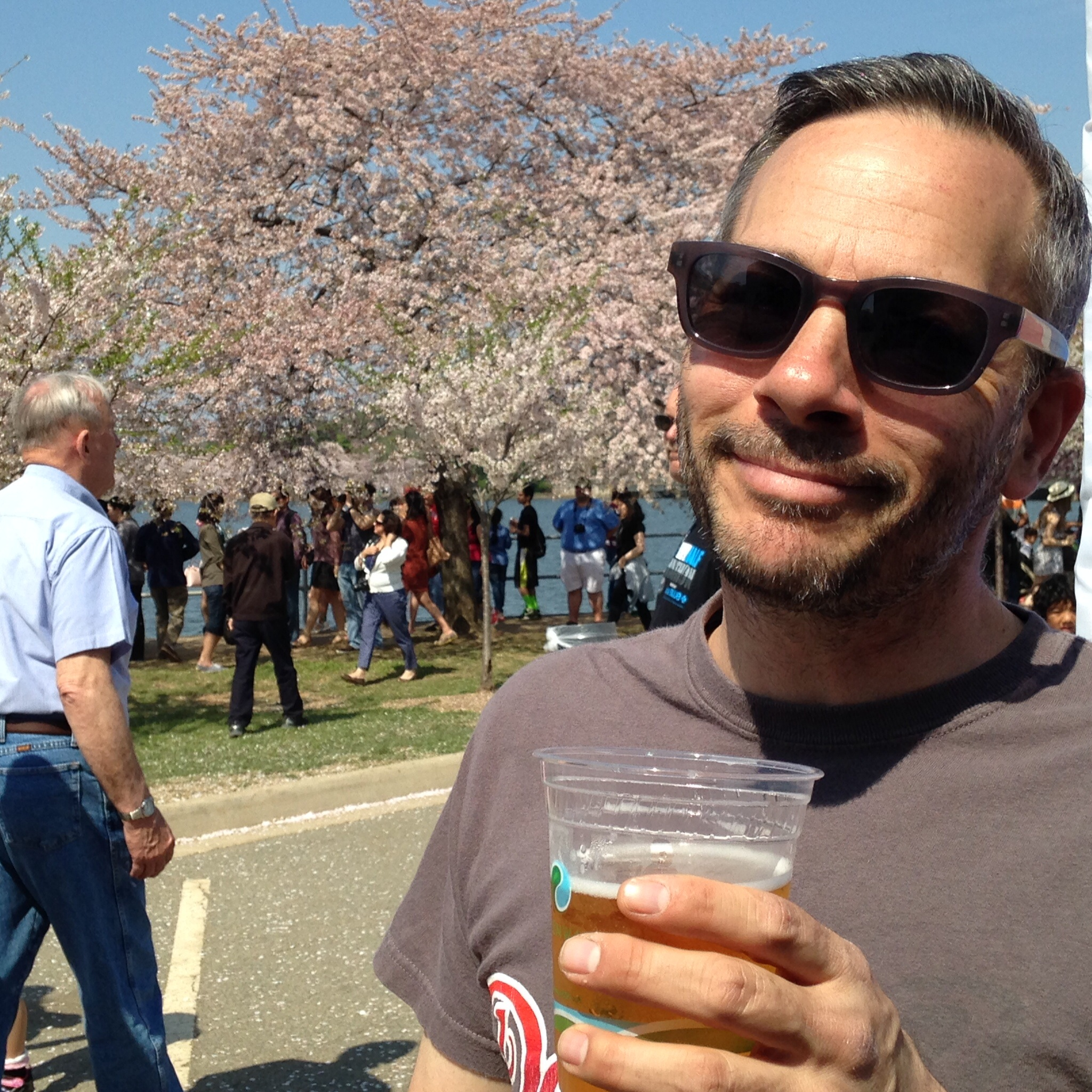 Mmmmm.....beer and blossom's