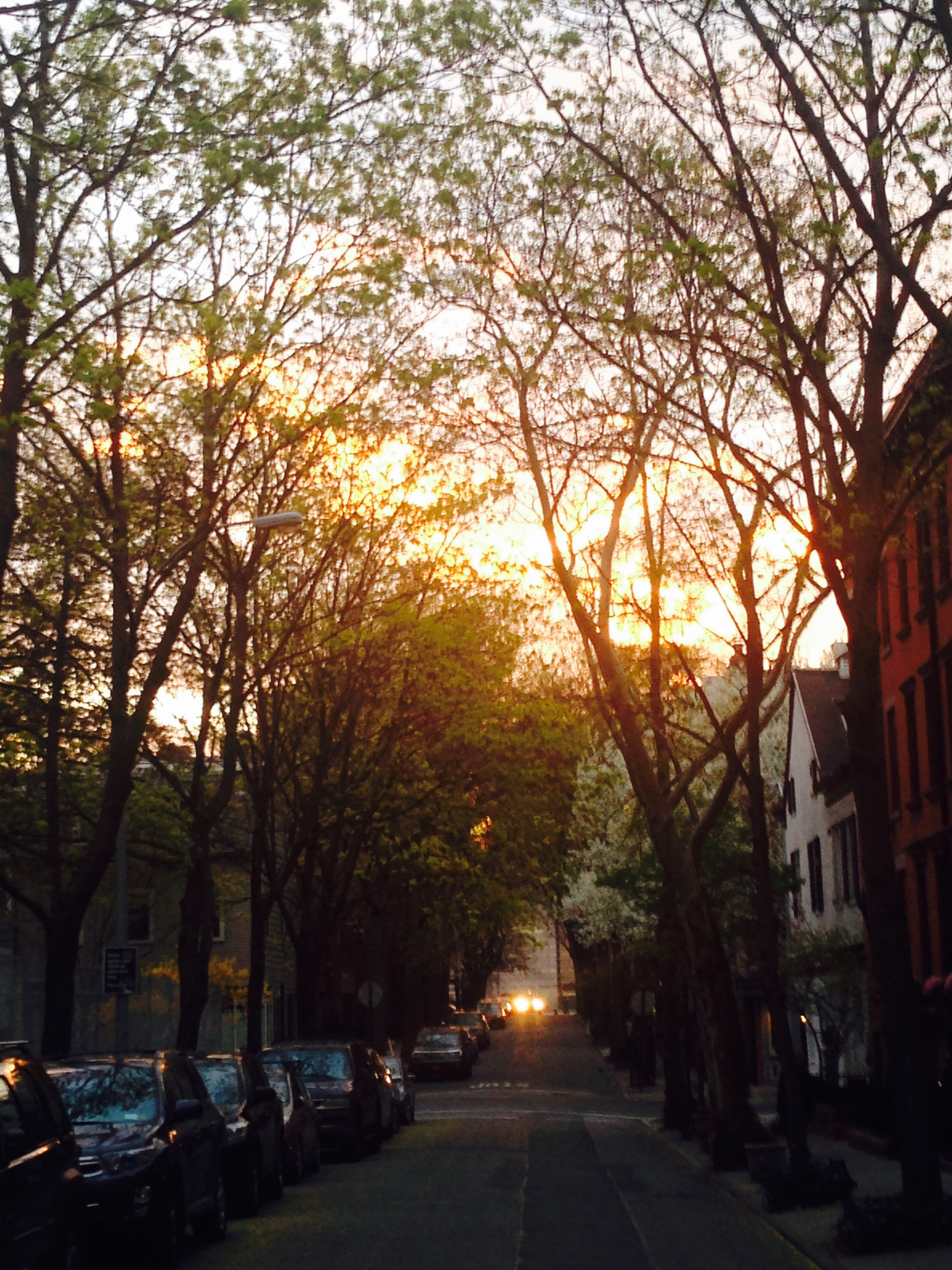 Sunset at BK Heights