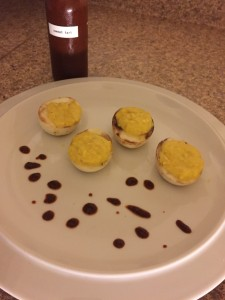 Sweet Tart Deviled Eggs